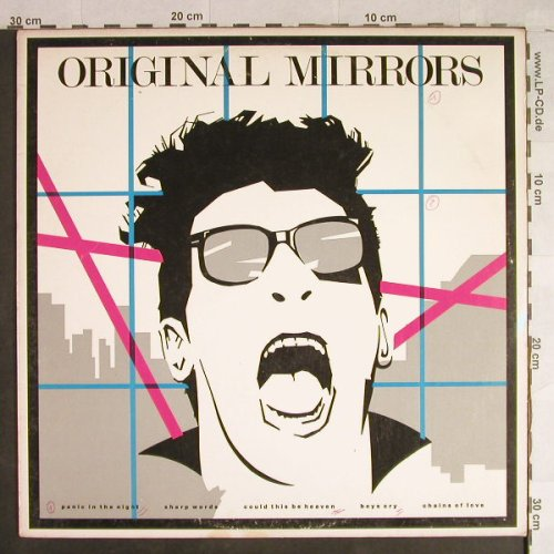 Original Mirrors: Same, vg+/vg+, Phonogram(AB 4269), US, 1980 - LP - H1398 - 5,00 Euro