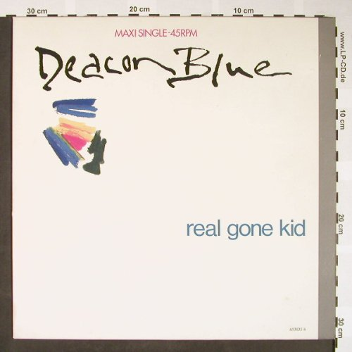 Deacon Blue: Real Gone Kid *2/Little Lincoln, CBS(653035 6), NL, 1988 - 12inch - H1642 - 3,00 Euro