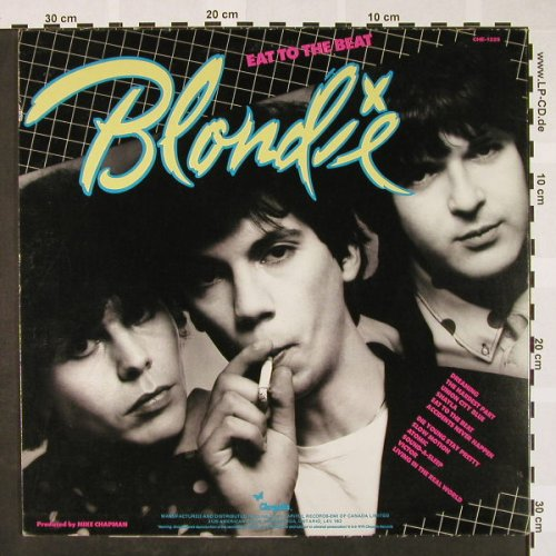 Blondie: Eat To The Beat, Chrysalis(CHE-1225), CDN, 1979 - LP - H4044 - 6,00 Euro