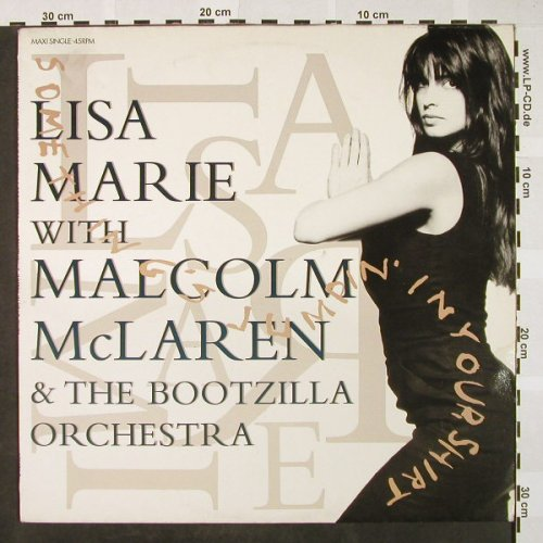 Mc Laren,M. & Bootzilla Orch.: Something's Jumpin' in your Shirt+1, Epic(655 129 6), NL, 1989 - 12inch - H4241 - 4,00 Euro