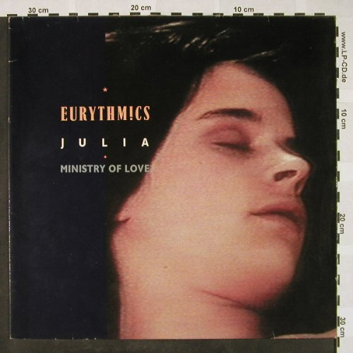 Eurythmics: Julia/Ministry Of Love, Virgin(601 631-213), D, 1985 - 12inch - H4301 - 3,00 Euro