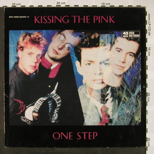 Kissing The Pink: One Step+2, Magnet(883 800-1), D, 1985 - 12inch - H4303 - 3,00 Euro
