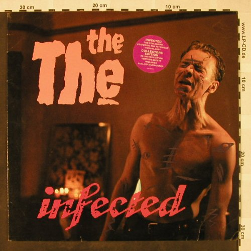The The: Infected, Lim.Ed., m-/vg+, Epic(EPC 26 770), UK, 1986 - LP - H4403 - 6,00 Euro