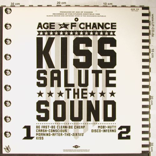 Age Of Chance: Be Fast Be Clean Be Cheap+5, Fon(AGE X5), UK, 1986 - 12inch - H6157 - 7,50 Euro