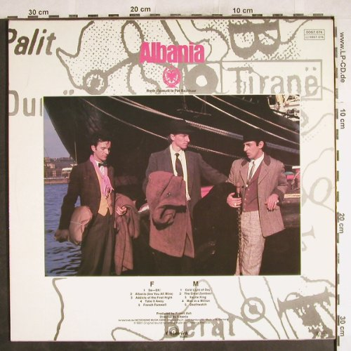 Albania: Are You All Mine, Chiswick(0067.074), D, 1981 - LP - H7345 - 5,50 Euro