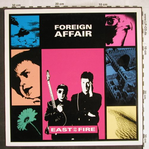 Foreign Affair: East on Fire, Crammed(cram 064), B, vg+/m-,  - LP - H7364 - 4,00 Euro
