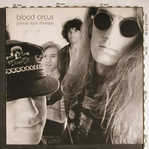 Blood Circus: Primal Rock Therapy, 5Tr.,33rpm, Glitterhouse(GR 0038), D,  - EP - H7539 - 5,00 Euro
