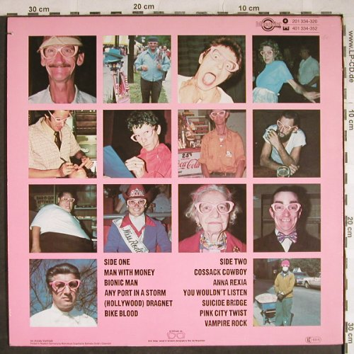 Fabulous Poodles: Think Pink, Blueprint(201 334-320), D, co, 1980 - LP - H8115 - 5,00 Euro