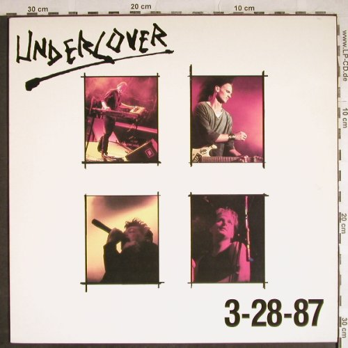 Undercover: 3-28-87, Broken(BRK R0500), UK, 1988 - LP - H8241 - 7,50 Euro