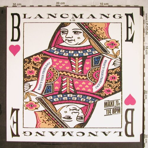 Blancmange: What's Your Problem?*2, Teldec(6.20482 AE), D, 1985 - 12inch - H8613 - 2,50 Euro