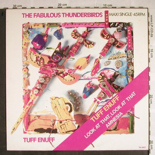 Fabulous Thunderbirds: Tuff Enough +2, Epic(TA 6967), NL, 1986 - 12inch - H8692 - 3,00 Euro