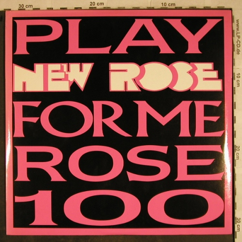 V.A.Play New Rose For Me Rose 100: Tav Falco...R.Stevie Moore, New Rose(ROSE 100), F, Foc,  - 2LP - H9494 - 15,00 Euro