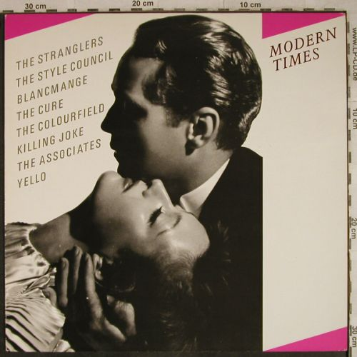 V.A.Modern Times: Stranglers...Colourfield, Teldec(6.26236 AS), D, 1985 - LP - H9533 - 7,50 Euro