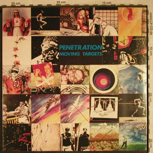 Moving Targets: Penetration, FS-New, Virgin(200 170 320), D, 1978 - LP - H9540 - 25,00 Euro