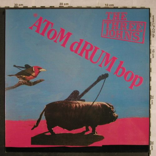 Three Johns: Atom Drum Bop, Abstract(AB t 010), F,  - LP - H9607 - 2,50 Euro