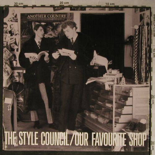 Style Council: Our Favorite Shop, Foc, Polydor(825 700-1), D, 1985 - LP - H9649 - 5,00 Euro