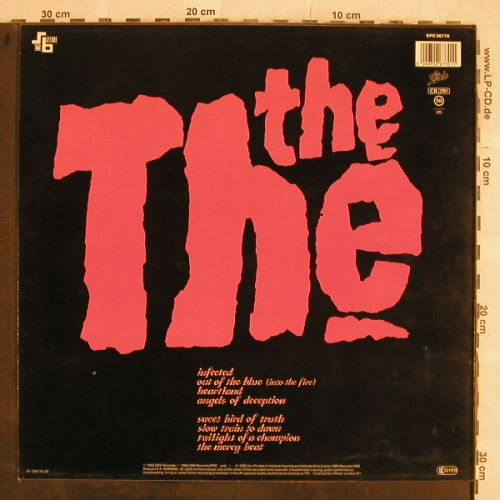 The The: Infected, Epic(EPC 26770), NL, 1986 - LP - H9785 - 5,50 Euro
