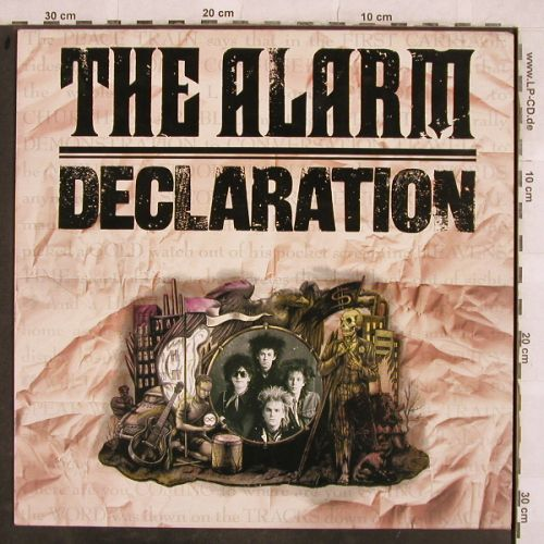 Alarm: Declaration, IRS(IRSA 7044), UK, 1984 - LP - H9789 - 4,00 Euro