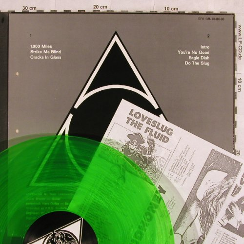 Loveslug: Snail House Rock, green vinyl, Glitterhouse(ML 04480-90), D, co,  - LP - H9948 - 3,00 Euro