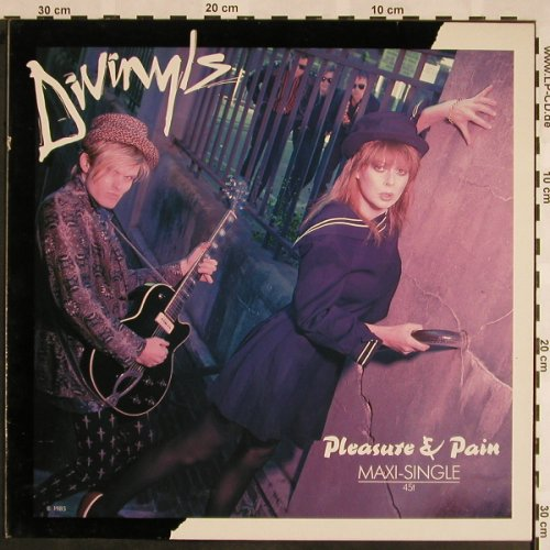 Divinyls: Pleasure & Pain*2+1, Chrysalis(607 969-213), D, 1985 - 12inch - X1025 - 3,00 Euro