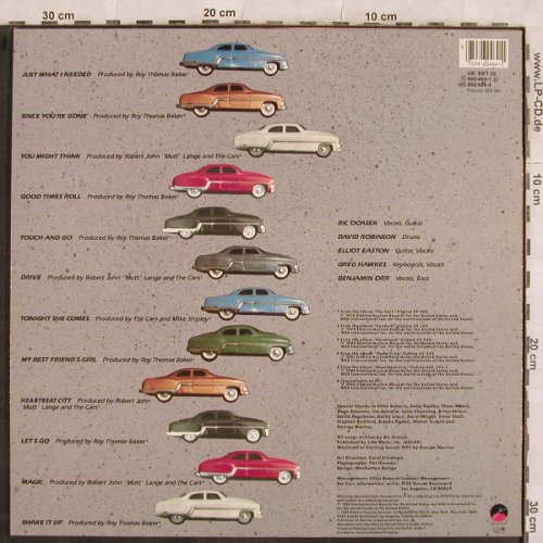 Cars: Greatest Hits, Elektra(960 464-1), D, 1985 - LP - X10 - 5,50 Euro