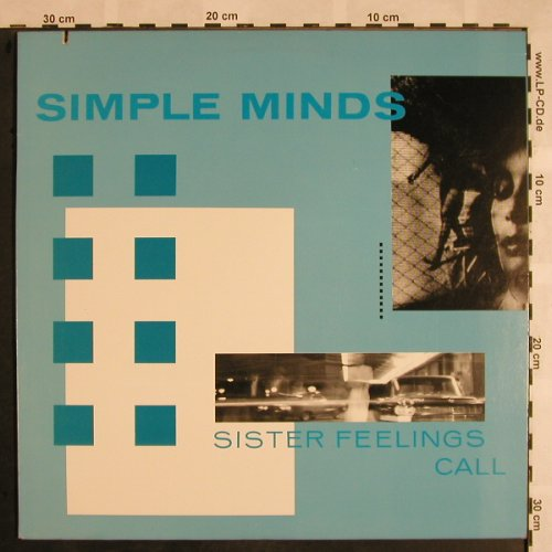 Simple Minds: Sisters Feeling Call, Virgin(7 90610-1), US, co, Ri, 1987 - LP - X1118 - 6,00 Euro