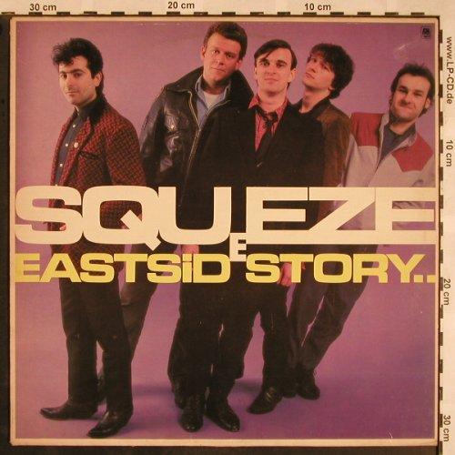 Squeeze: East Side Story, m-/vg+, AM(LH 64854), NL, 1981 - LP - X1221 - 5,00 Euro