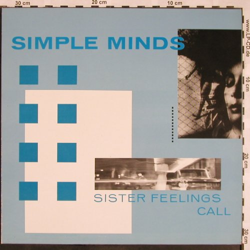 Simple Minds: Sister Feelings Call, Virgin(205 154-270), D, 1981 - LP - X1247 - 6,00 Euro