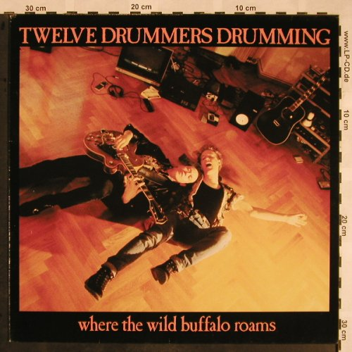 Twelve Drummers Drumming: Where The Wild Buffalo Roams, Mercury(834 729-1), D, 1988 - LP - X1274 - 4,00 Euro