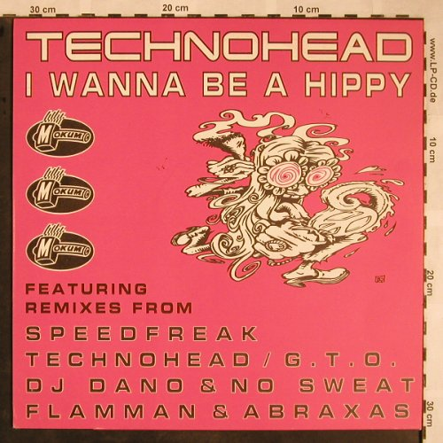 Technohead: I Wanna Be A Hippy x5, 33rpm, Mokum(MOK 37), D,  - 12inch - X1502 - 5,00 Euro
