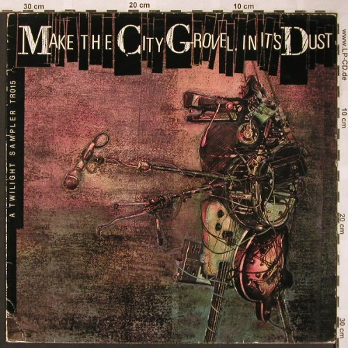 V.A.A Twilight Sampler: Make the City Grovel in it'sDust, Twilight(TR015), UK,vg+/vg+,  - LP - X1611 - 5,00 Euro