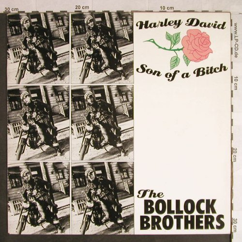 Bollock Brothers: Harley David Son of a Bitch*2, Play It Again Sam(BiaS 36), D,  - 12inch - X2266 - 4,00 Euro