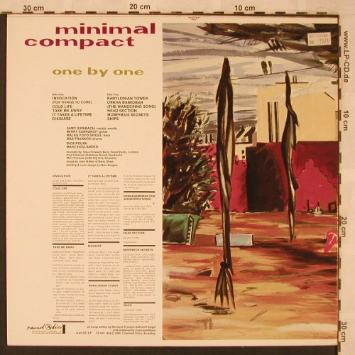 Minimal Compact: One By One, Crammed(CRAM 021), B, 1982 - LP - X2421 - 15,00 Euro