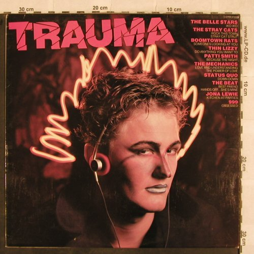 V.A.Trauma: Belle Stars, Stray Cats, 999.., Pickwick(SHM 2122), UK, 1982 - LP - X247 - 5,00 Euro