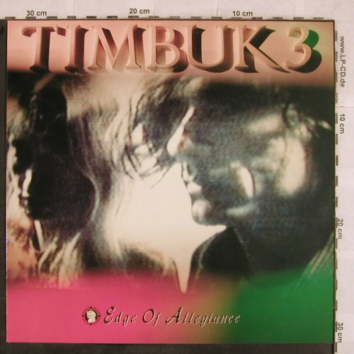 Timbuk 3: Edge Of Allegiance, IRS(24 1031 1), EEC, 1989 - LP - X251 - 5,00 Euro
