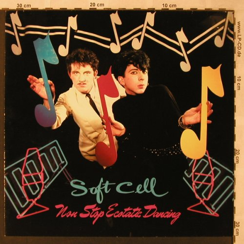 Soft Cell: Non Stop Ecstatic Dancing, Vertigo(6359 110), D, 1982 - LP - X2598 - 7,50 Euro