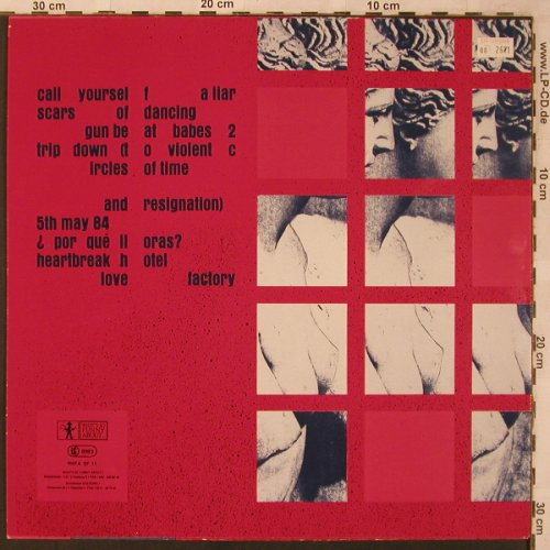 Kastrierte Philosophen: Love Factory, What'sSoF.(WSFA SF 11), D,  - LP - X2670 - 9,00 Euro