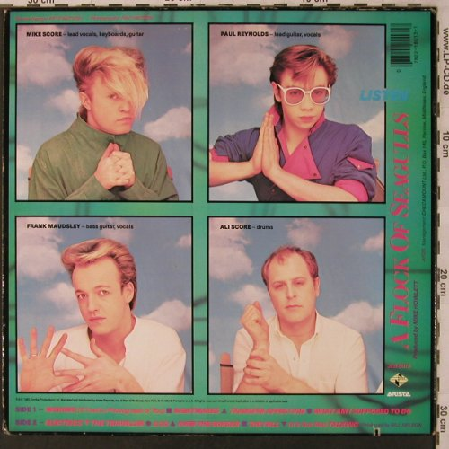 A Flock Of Seagulls: Listen, Jive(), US, co, 1983 - LP - X3009 - 5,50 Euro