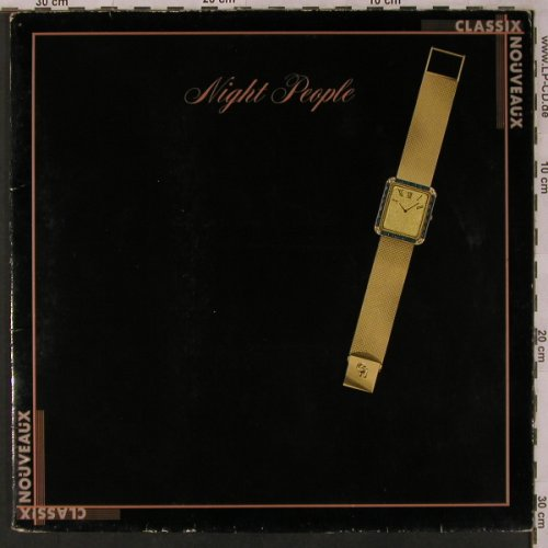 Classix Nouveaux: Night People, m-/vg+, Liberty(1A 062-83143), D, 1981 - LP - X3011 - 5,00 Euro
