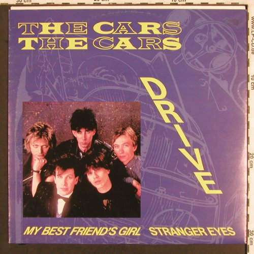 Cars: Drive/My Best Friend's Girl +1, Elektra(966 934-0), D, 1984 - 12inch - X3128 - 2,50 Euro