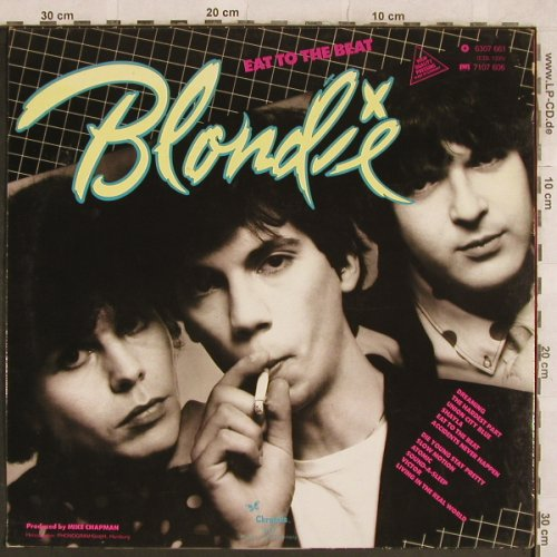 Blondie: Eat To The Beat, Chrysalis(6307 661), D, 1979 - LP - X314 - 5,00 Euro