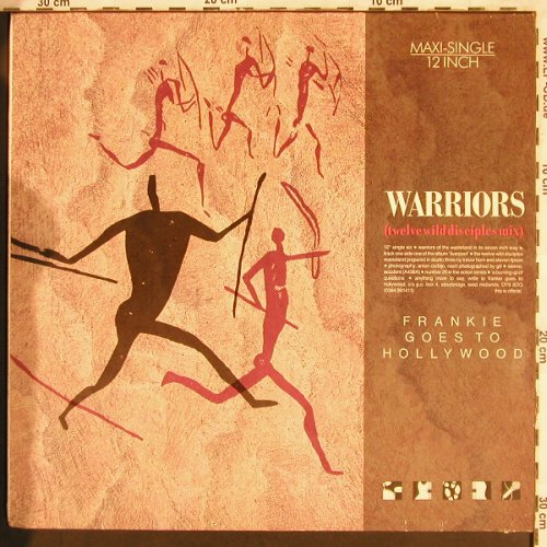 Frankie Goes To Hollywood: Warriors*3,twelve wild DiscipipleMx, ZTT(608 615), D, 1986 - 12inch - X3328 - 4,00 Euro