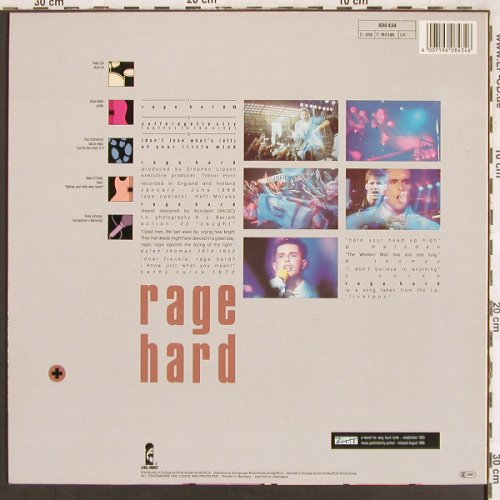 Frankie Goes To Hollywood: Rage Hard,Slam Bam(12:10)+2, ZTT(608 434), D, 1986 - 12inch - X3329 - 4,00 Euro