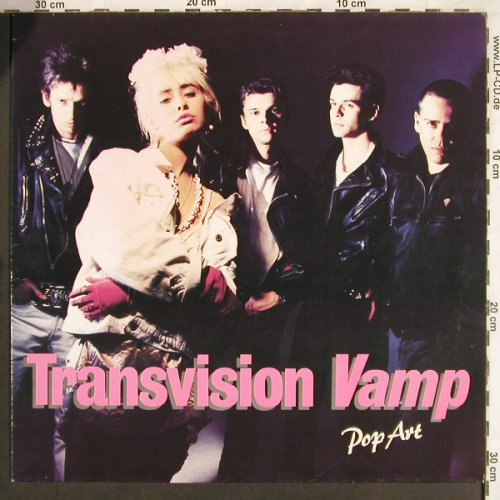 Transvision Vamp: Pop Art, MCA(255 802-1), D, 1988 - LP - X3513 - 6,00 Euro
