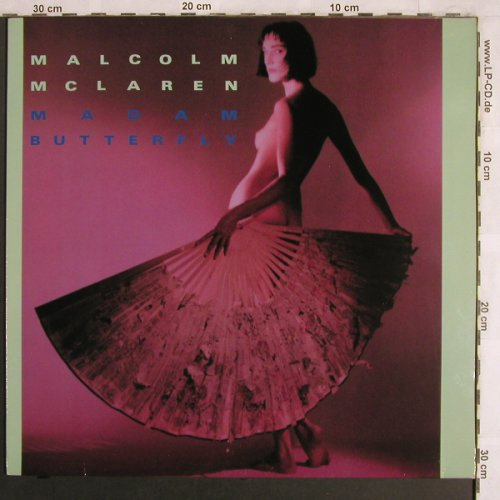 Mc Laren,Malcolm: Madam Butterfly / First Couple Out, Virgin(601 503-213), D, 1984 - 12inch - X3976 - 3,00 Euro
