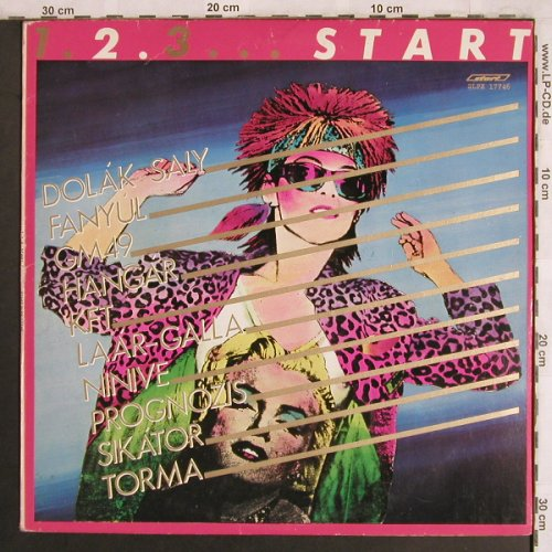 V.A.1.2.3. Start: Dolak Saly..Torma, Start(SLPX 17746), H, 1983 - LP - X4025 - 9,00 Euro