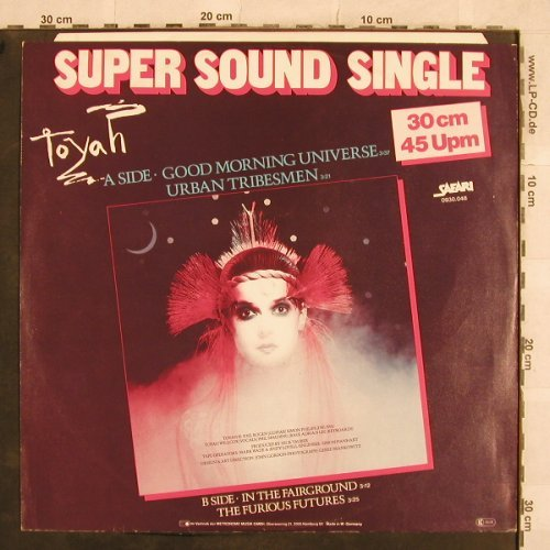 Toyah: Good Morning Universe+3, Safari(0930.048), D, 1981 - 12inch - X440 - 4,00 Euro