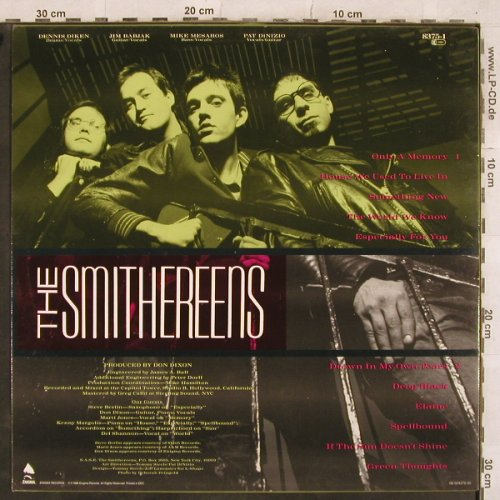 Smithereens: Green Thoughts, Enigma(INT 148.728), EEC, 1988 - LP - X448 - 5,00 Euro