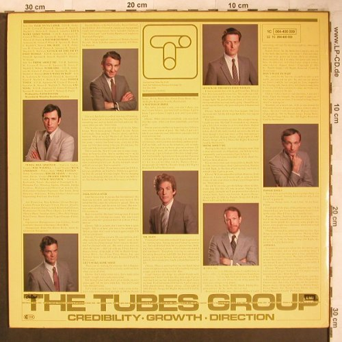 Tubes: The Completion Backward Principle, Capitol(064-400 009), D, 1981 - LP - X4696 - 6,00 Euro