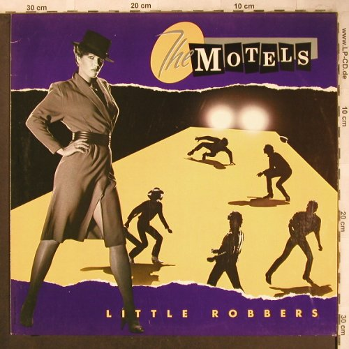 Motels: Little Robbers, Capitol(064 7122881), D, 1983 - LP - X4726 - 5,50 Euro